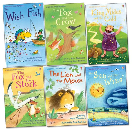 Usborne First Reading Pack: Level 1