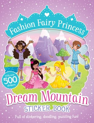 Dream Mountain Sticker Book