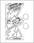 Make Your Own Superkid Mask (2 pages)