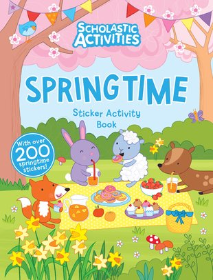 Springtime Sticker Activity Book