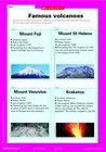 Famous volcanoes – fact sheet