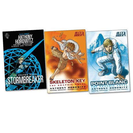 Alex Rider Graphic Novels Pack