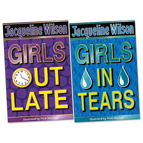 Girls Out Late/Girls in Tears (2 books)