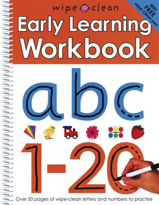 Wipe-Clean Early Learning Workbook
