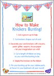 Queen's Knickers Activity Pack (5 pages)