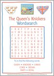 Queen's Knickers wordsearch