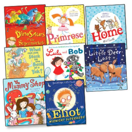 Scholastic Picture Book Pack x 8