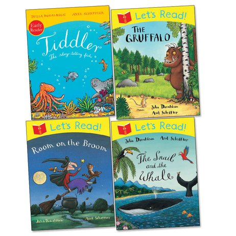 Julia Donaldson Early Readers Pack x 4