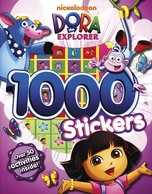 Dora the Explorer: 1000 Stickers