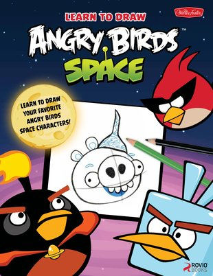 Learn to Draw: Angry Birds Space