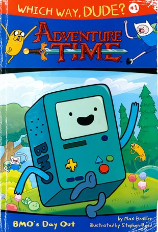 Which Way, Dude? Adventure Time - BMO's Day Out