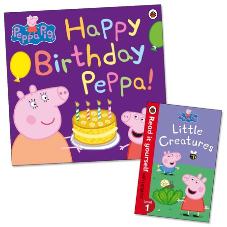 Happy Birthday Peppa! with FREE Little Creatures Mini Edition