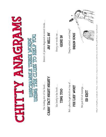 Chitty Teacher's Pack