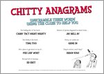 Chitty Anagrams