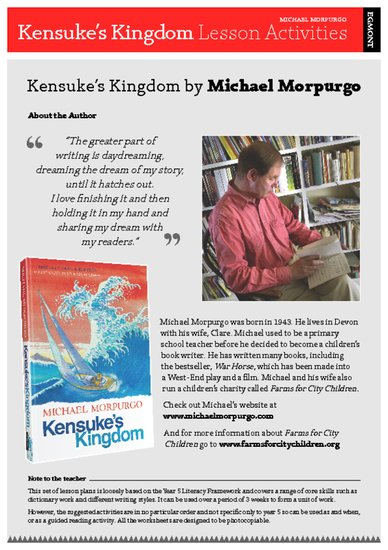 Kensuke's Kingdom Teacher's Notes