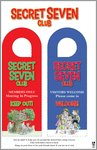 Secret Seven Doorhanger