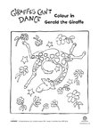 Giraffes Can't Dance activity pack (3 pages)