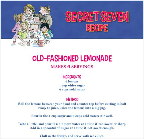 Secret Seven Lemonade