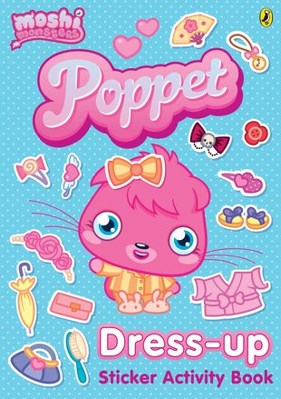 Moshi Monsters: Poppet Dress-Up Sticker Activity Book