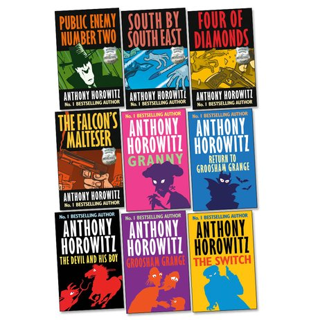 Anthony Horowitz Bumper Pack