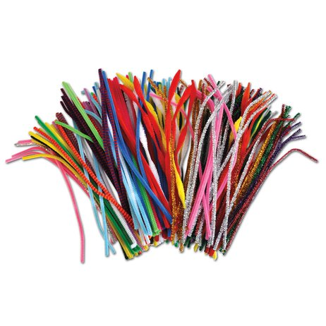 Chenille Stems Class Pack (250 Pieces)