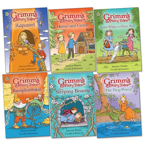 Grimm's Fairy Tales Pack x 6