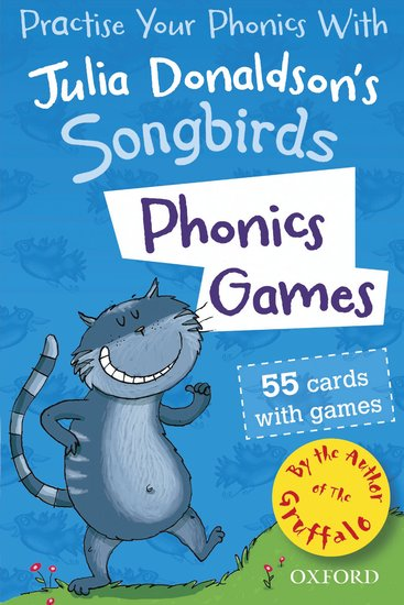 Julia Donaldson's Songbirds: Phonics Games