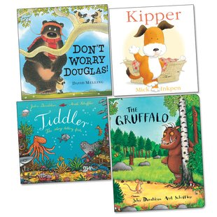 Favourite Characters Board Book Pack