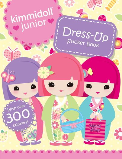 Dress-Up Sticker Book