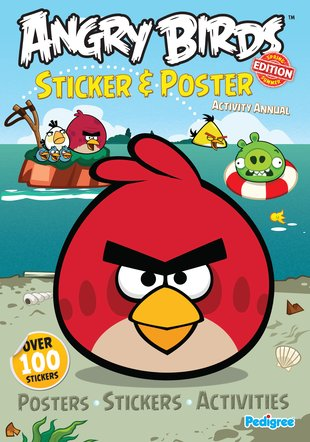 Angry Birds: Sticker and Poster Activity Annual