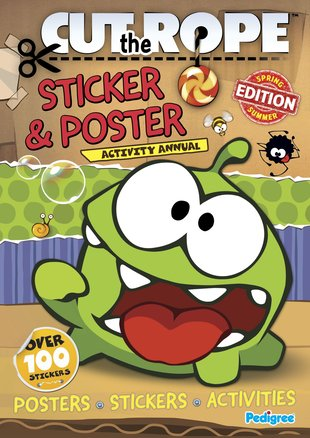 Cut the Rope: Sticker and Poster Activity Annual
