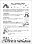 Very Hungry Caterpillar Activity Pack (8 pages)