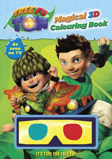 Tree Fu Tom: Magical 3D Colouring Book