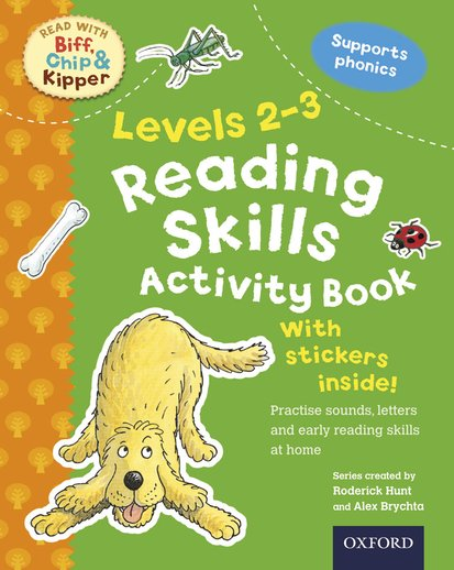 Read With Biff, Chip and Kipper: Reading Skills Activity Book (Levels 2-3)