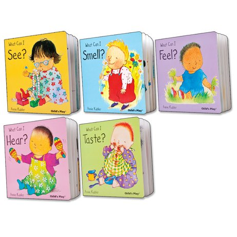 Five Senses Mini Board Book Pack