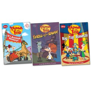 Phineas and Ferb Chapter Book Trio