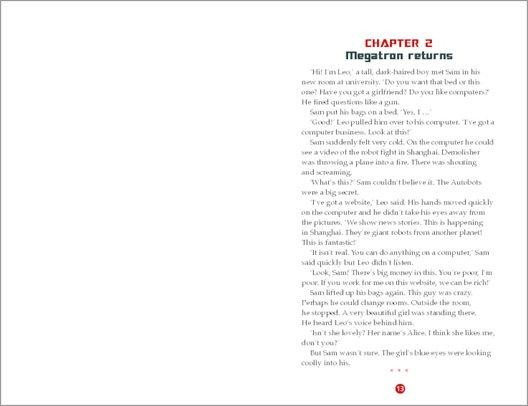 Transformers: Revenge of the Fallen: Sample Chapter