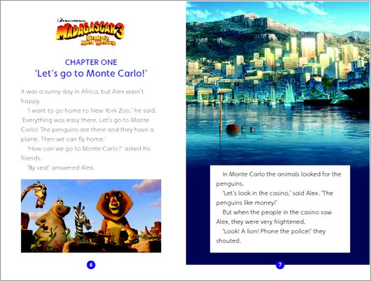 Madagascar 3: Europe's Most Wanted: Sample Chapter