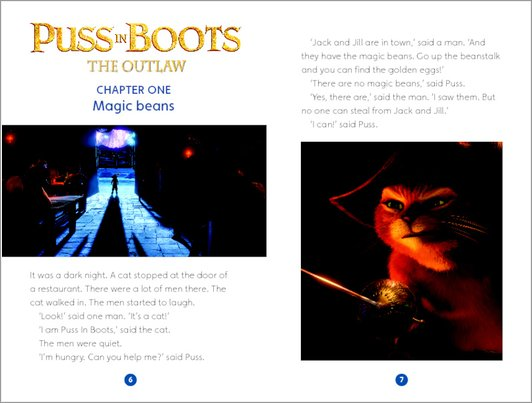 Puss-in-Boots The Outlaw : Sample Chapter