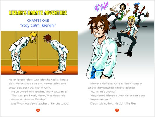 Kieran's Karate Adventure: Sample Chapter