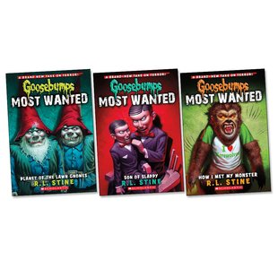 Goosebumps Most Wanted Pack x 3