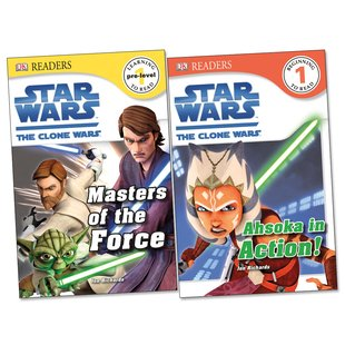 DK Readers: Star Wars – Clone Wars Pack