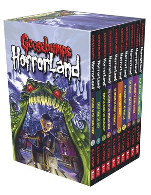 Goosebumps HorrorLand Box Set