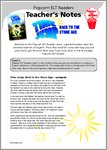 Time Jump: Back to the Stone Age: Teacher's Notes (18 pages)