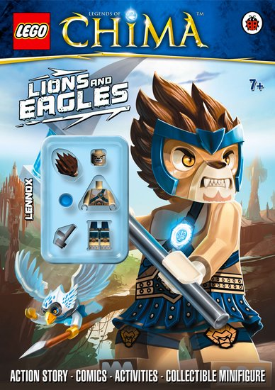 LEGO Legends of Chima: Lions and Eagles Activity Book