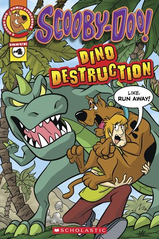 Scooby-Doo! Comic Storybook: Dino Destruction