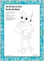 No-Bot the Robot Dot the Dots