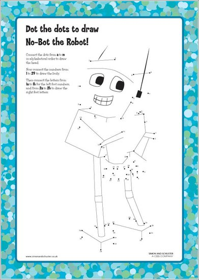 No-Bot the Robot Dot the Dots