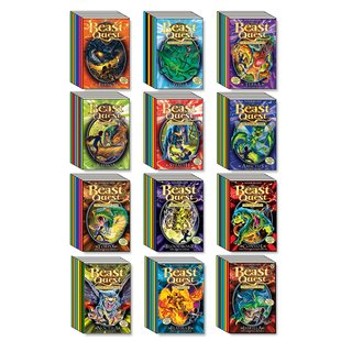 Beast Quest Mega Pack: Series 1-12