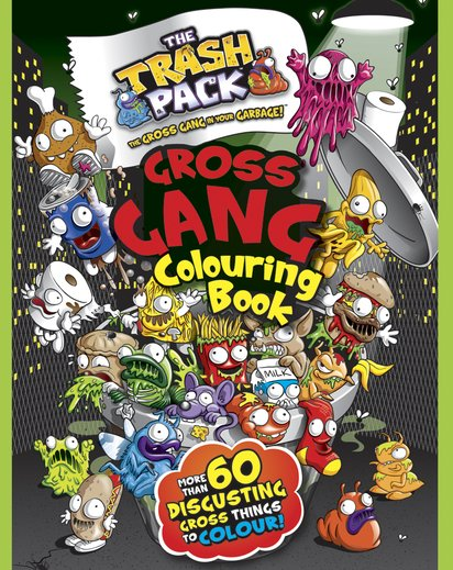 The Trash Pack: Gross Gang Colouring Book
